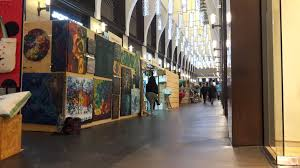 oil painting exhibition with afkart designers christmas week