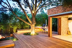 Backyard Ideas For Entertaining Modern Backyard With Entertaining Area And Pool In Stylish