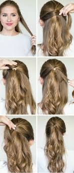 step by step womens hair cuts best 25 easy party hairstyles ideas on pinterest party hair