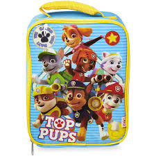 zak paw patrol pups lunch bag big
