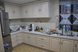 kitchen of european style white kitchen cabinet with cabinets