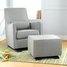 Ottoman For Baby Room Best Gray Nursery Glider Ideas On Baby Room Babyglider Rocker With