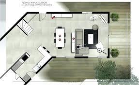 cuisine ouverte sur salle à manger plan de cuisine ouverte sur salle a manger salon plan de cuisine