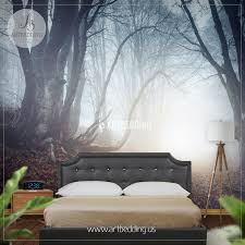 foggy mysterious forest self adhesive peel stick nature wall foggy mysterious forest self adhesive peel stick nature wall mural wall mural