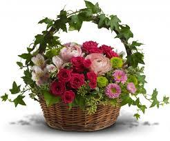 basket arrangements easter basket arrangement sequoia floral