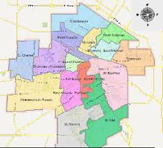 winnipeg map community committee and ward boundaries election services