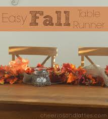 easy fall table runner loversiq