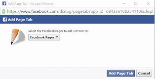 How To Attach Photo To Resume Adding A Form To Your Facebook Page Jotform