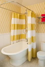Shower Curtain Contemporary Two Shower Curtains Bathroom Contemporary With Red Flush Toilets