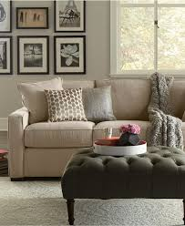 Macy Home Decor by Living Room Chairs Macys Kenton Fabric Sofa Living Room Furniture