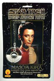 bajoran earring trek ds9 major bajoran earring nose bridge prop set