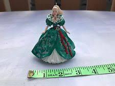 barbie holiday ornaments 1995 ebay