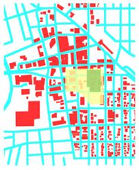 Map Of Tucson Bill Mackey Architect Artist Overlay Maps