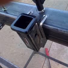 2003 dodge ram 1500 rear bumper thuren diy rear bumper weld brackets 2003 2013 bumper