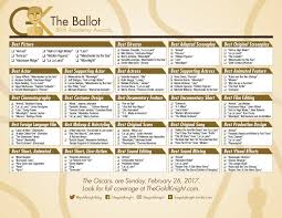 Setting The Table Danny Meyer Pdf Your 2017 Oscar Party Essentials Printable Oscars Ballot And