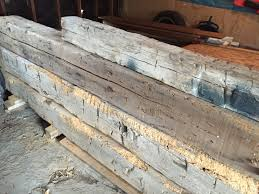 fireplace mantel made from a hand hewn beam champaign il pure
