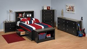 4 Piece Bedroom Furniture Sets Bedroom Sets Lauran Black Twin Size Bedroom Set Newlotsfurniture