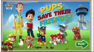 paw pups save the friends game new games for kids fun games