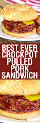 best ever simple crockpot pulled pork sandwich new video