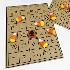 crafty in crosby free printable halloween bingo game
