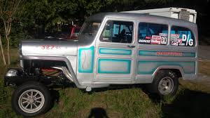 willys jeep truck for sale bangshift com this 1962 willys wagon gasser is for sale
