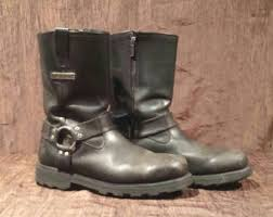 womens motorcycle boots size 12 s motorcycle boots etsy