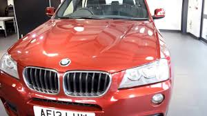 used bmw x3 2 0 xdrive20d m sport 5dr auto 181 bhp youtube