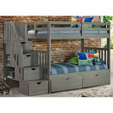 Staircase Bunk Beds Cambridge Staircase Bunk Bed With Drawers Bernie Phyl S