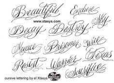 tattoo cursive letters generator google search tattoos