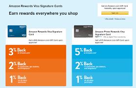 amazon rewards visa credit card online application