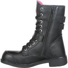 motorcycle boots style moxie trades amelia 8 inch aluminum toe women u0027s motorcycle work