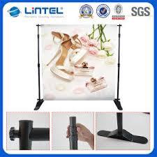 Wedding Backdrop Banner China Telescopic Wedding Backdrop Exhibition Banner Stand Lt 21