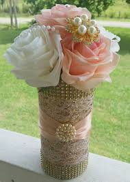 Pink And Gold Centerpieces by Best 25 Gold Vase Centerpieces Ideas On Pinterest Wedding