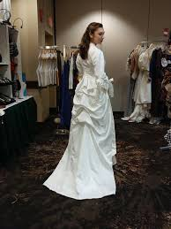 french wedding dress as they sew in france