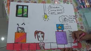 cara membuat poster untuk anak sd siswa sd di banda aceh ikut lomba hemat energi youtube