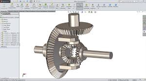 solidworks tutorial sketch differential gear box in solidworks