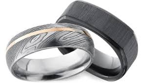 mens wedding rings shop unique mens wedding bands in gold alternative metals