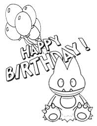 pokemon birthday balloons coloring u0026 coloring pages