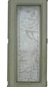 Etched Glass Exterior Doors Etched Glass Exterior Door Throughout Doors Designs 13