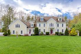 Colonial Home Classic Grand Colonial Home New Hampshire Luxury Homes