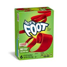 Teh Fruity betty crocker fruit snacks fruit by the foot