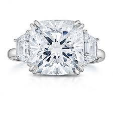 engagement rings cushion cut lepozzi 5 31 ct cushion cut diamond engagement ring