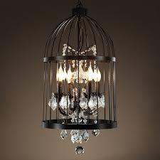 Birdcage Chandeliers Aliexpress Com Buy American Birdcage Chandelier Crystal Light