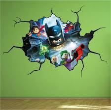 unique lego wall decals decoration furniture image of batman lego wall decals