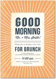 wedding brunch invitations morning after wedding brunch invitations wedding brunch