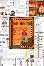 half chicken activities journeys 2nd grade unit 5 lesson 24