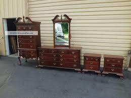 American Drew Nightstand Bedroom Set Nightstand American Drew Cherry Grove For Sale