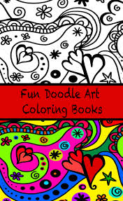 doodle art coloring books