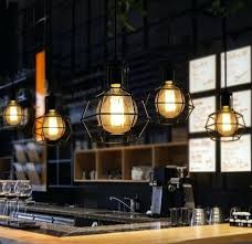Vintage Pendant Light Fixtures Outstanding Restaurant Pendant Lighting Loft Style Industrial