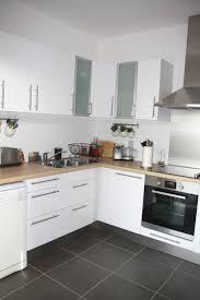 cuisine en bois blanc idee cuisine blanche et bois